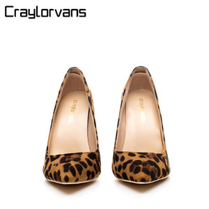 Leopard Classical High Heels