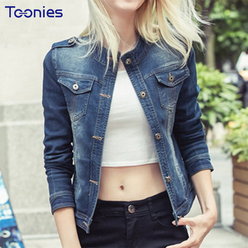 Fashion Denim Jacket Women