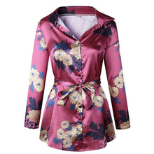 Satin Blouse Shirt
