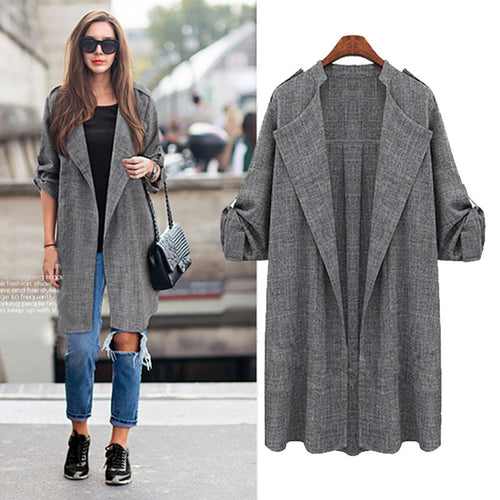 Casual Style Coat
