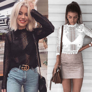 Casual Lace Top