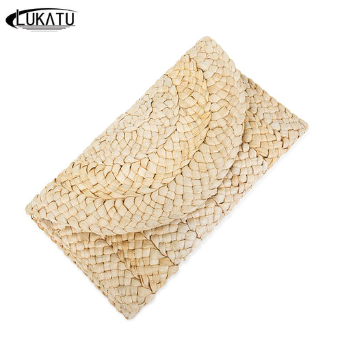 Straw Summer Clutch