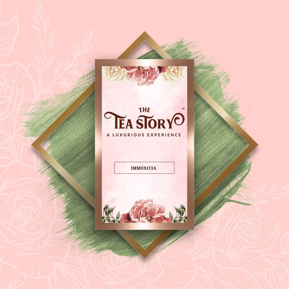 The Tea Story Immunitea Single Tea Box