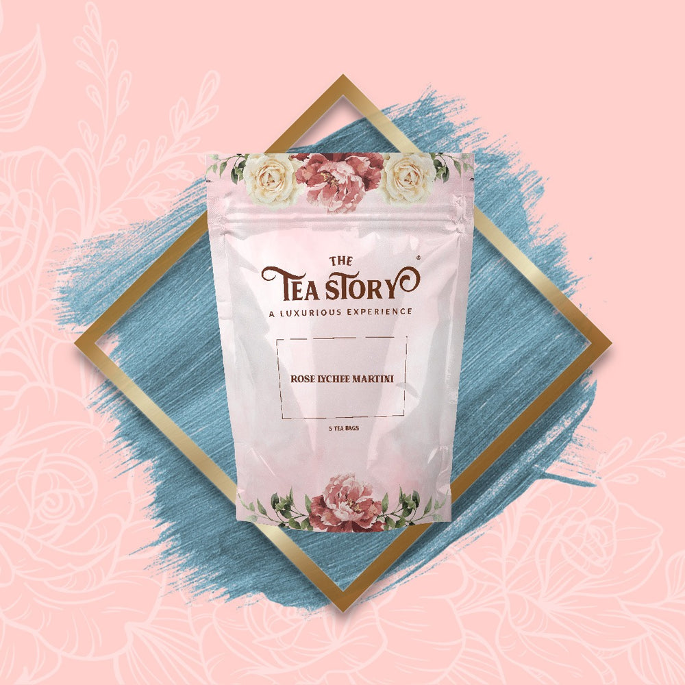 The Tea Story Rose Lychee Martini Tea Pouch
