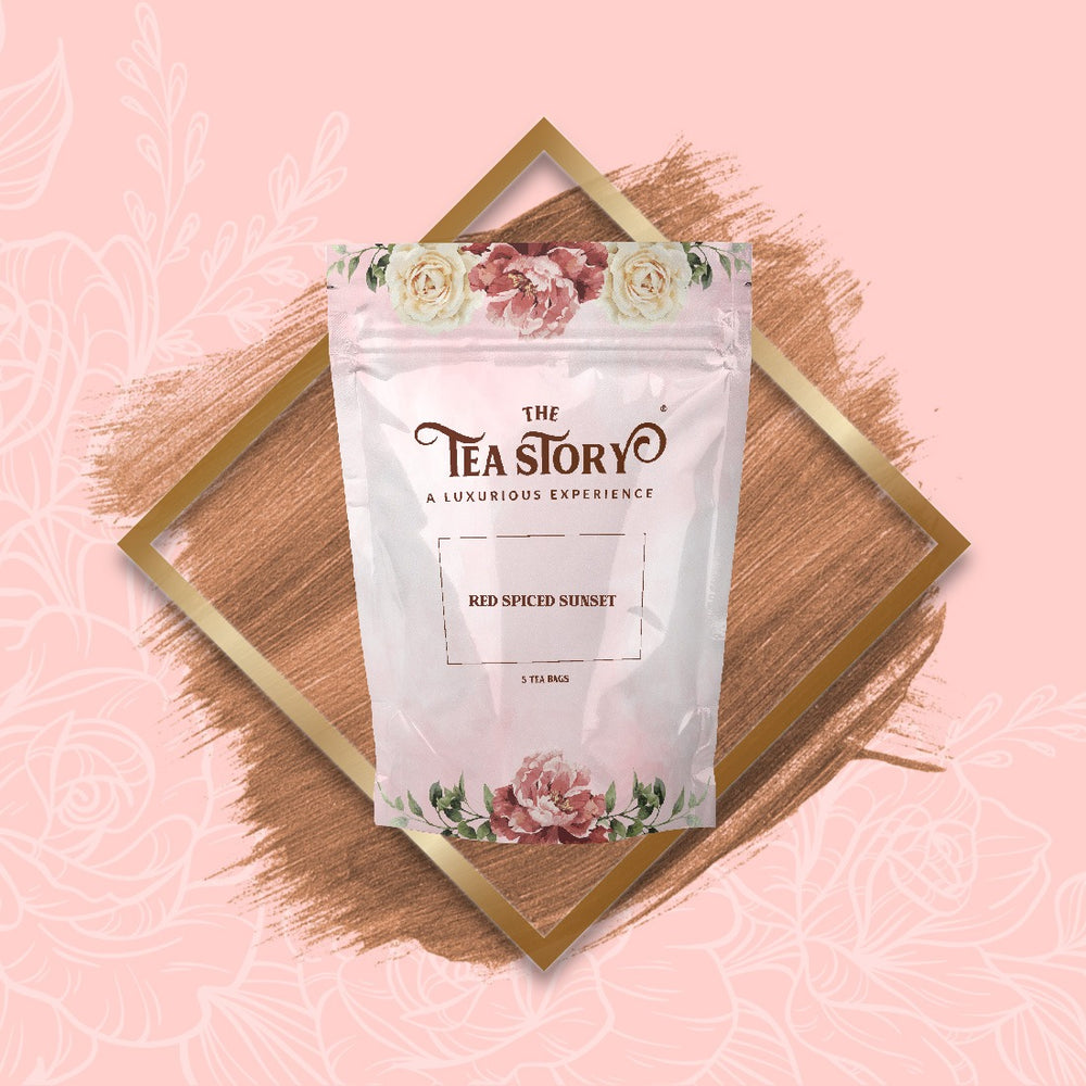 The Tea Story Red Spiced Sunset Tea Pouch