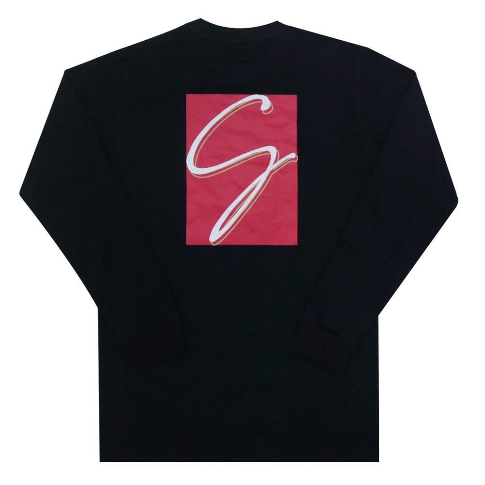 Gemsy Galeria Long Sleeve T-shirt (Black)