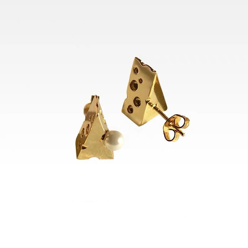Chesi Earrings - Gold