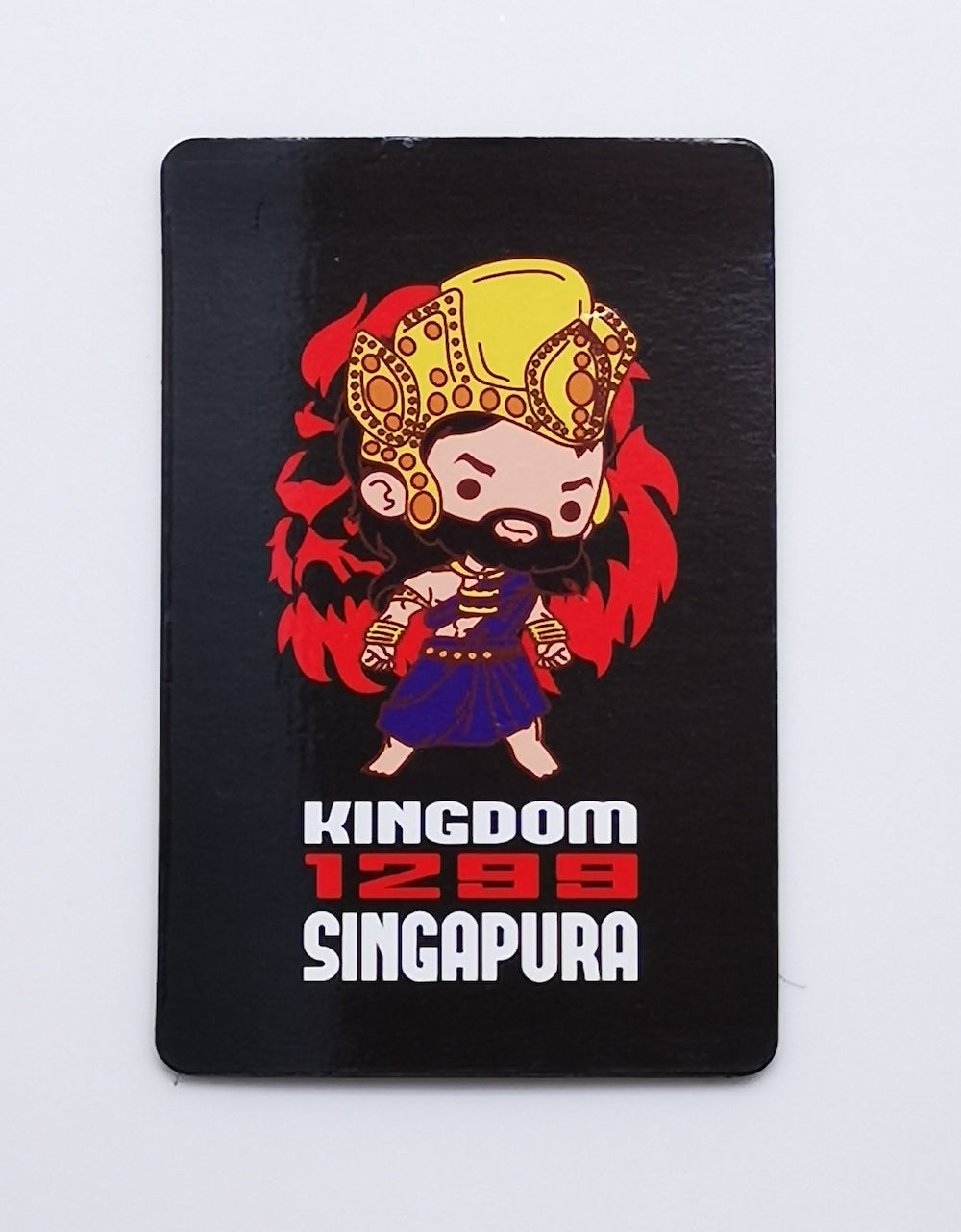 Chibi Singapore Magnet Cards