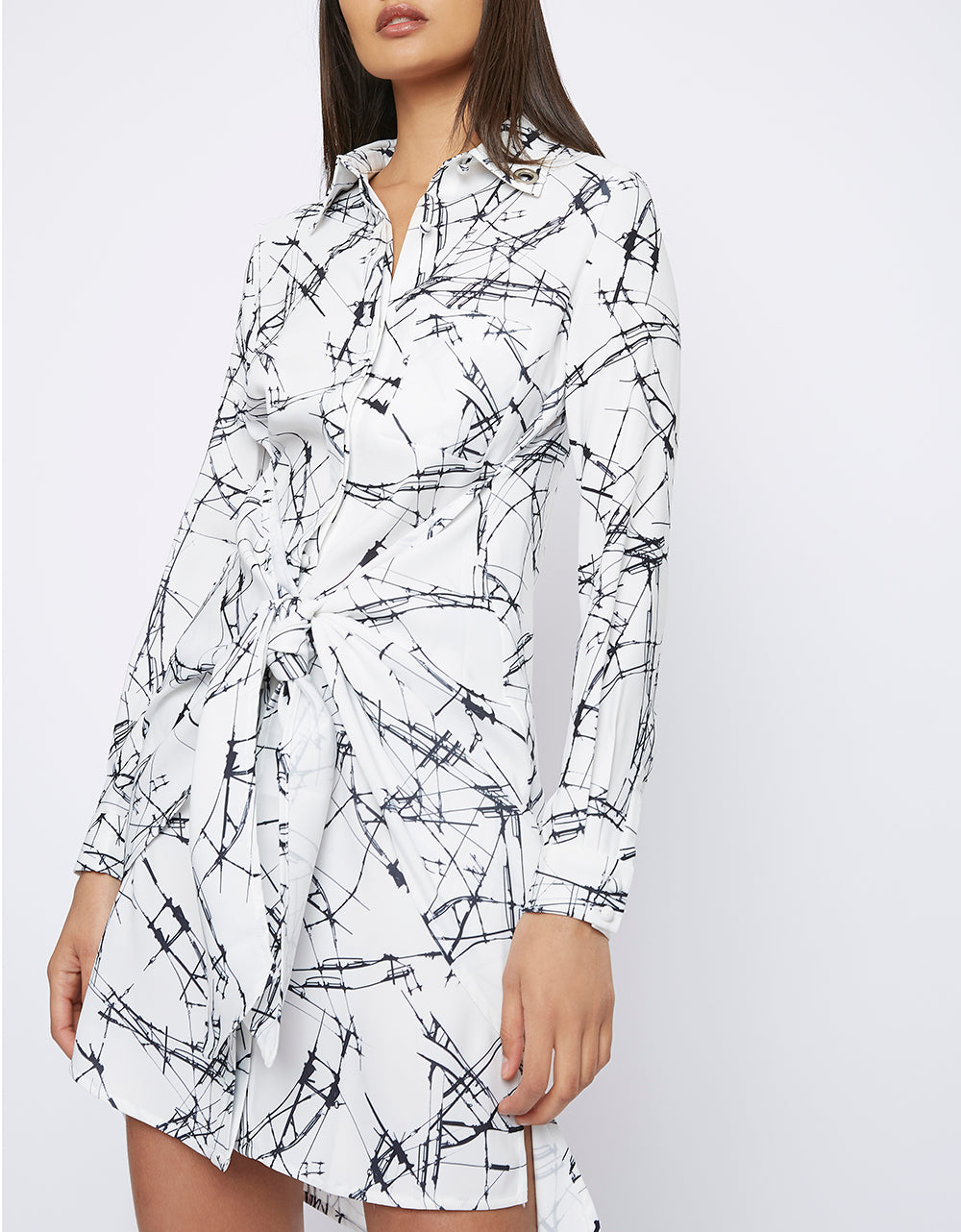 The 'SPOKE' Shirt Dress