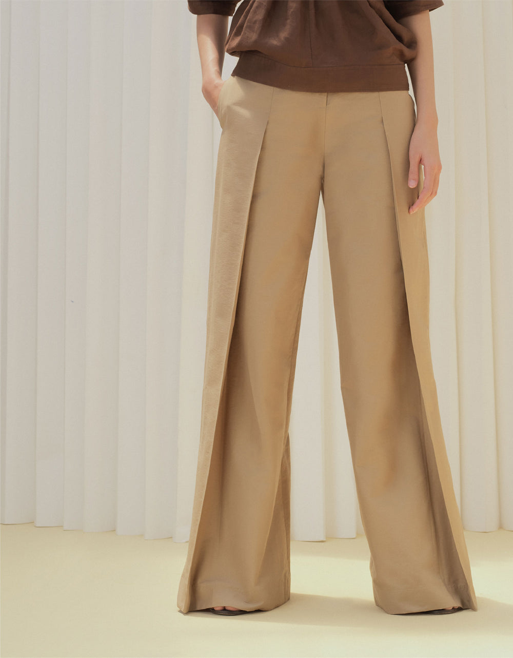 Allison Trousers (Beige)