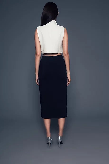 Aimee Skirt (Dark Navy)