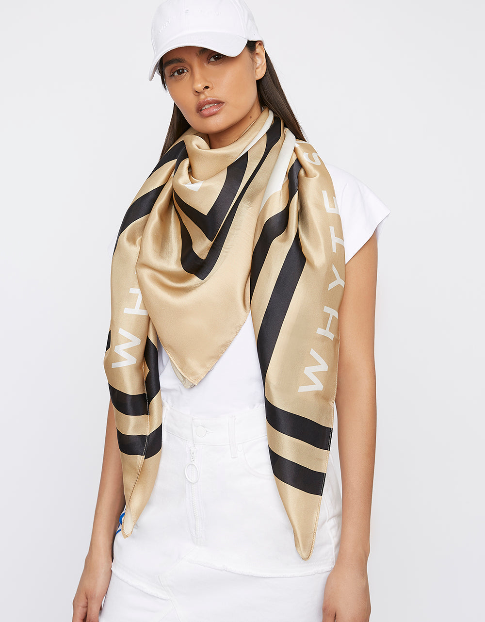 The 'HIGH-SIDE' Large Silk Scarf