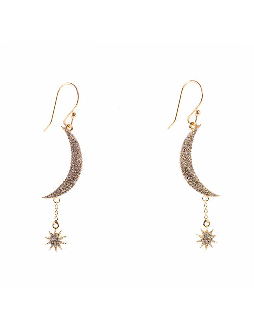Granada Earrings (Brass Gold)
