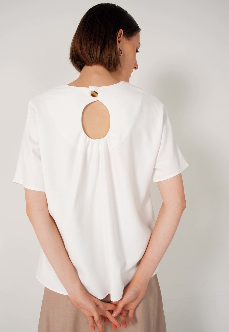 Fiona Gathered Back Top