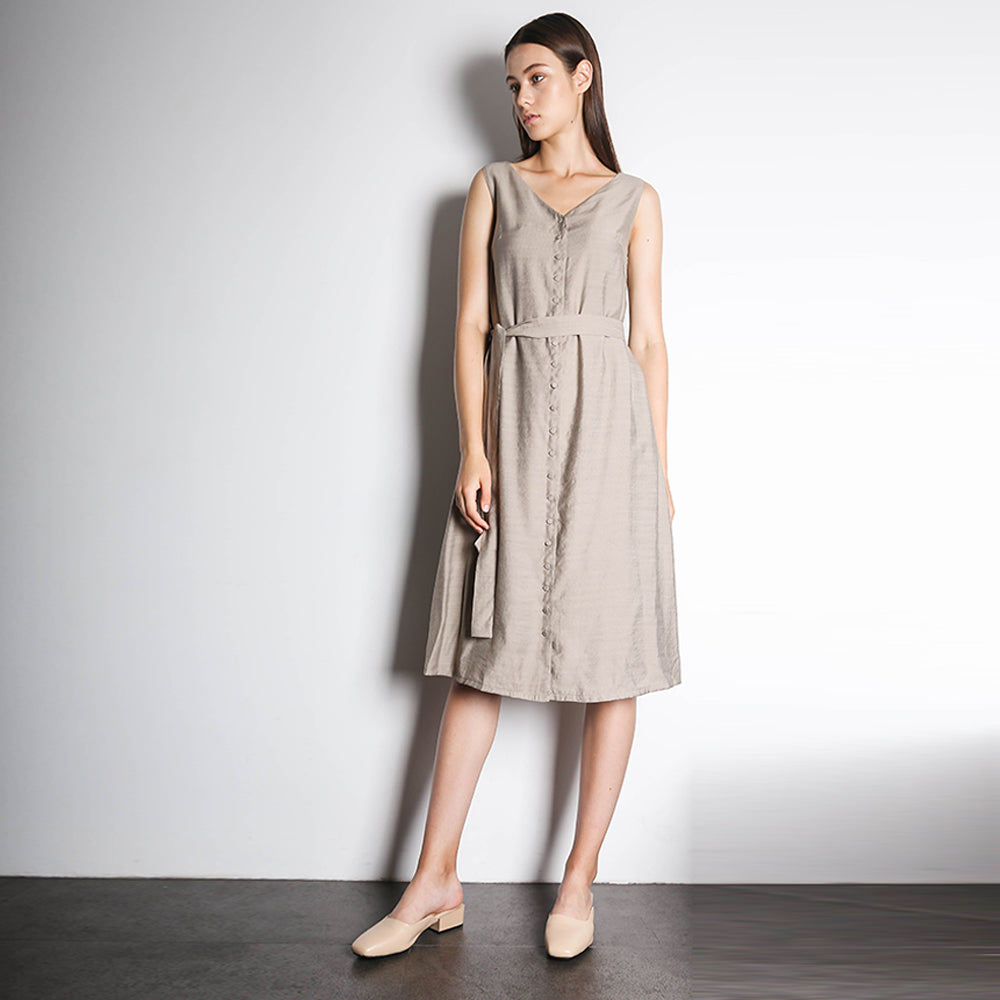 Angelus Dress - Seneca Rock (Khaki)