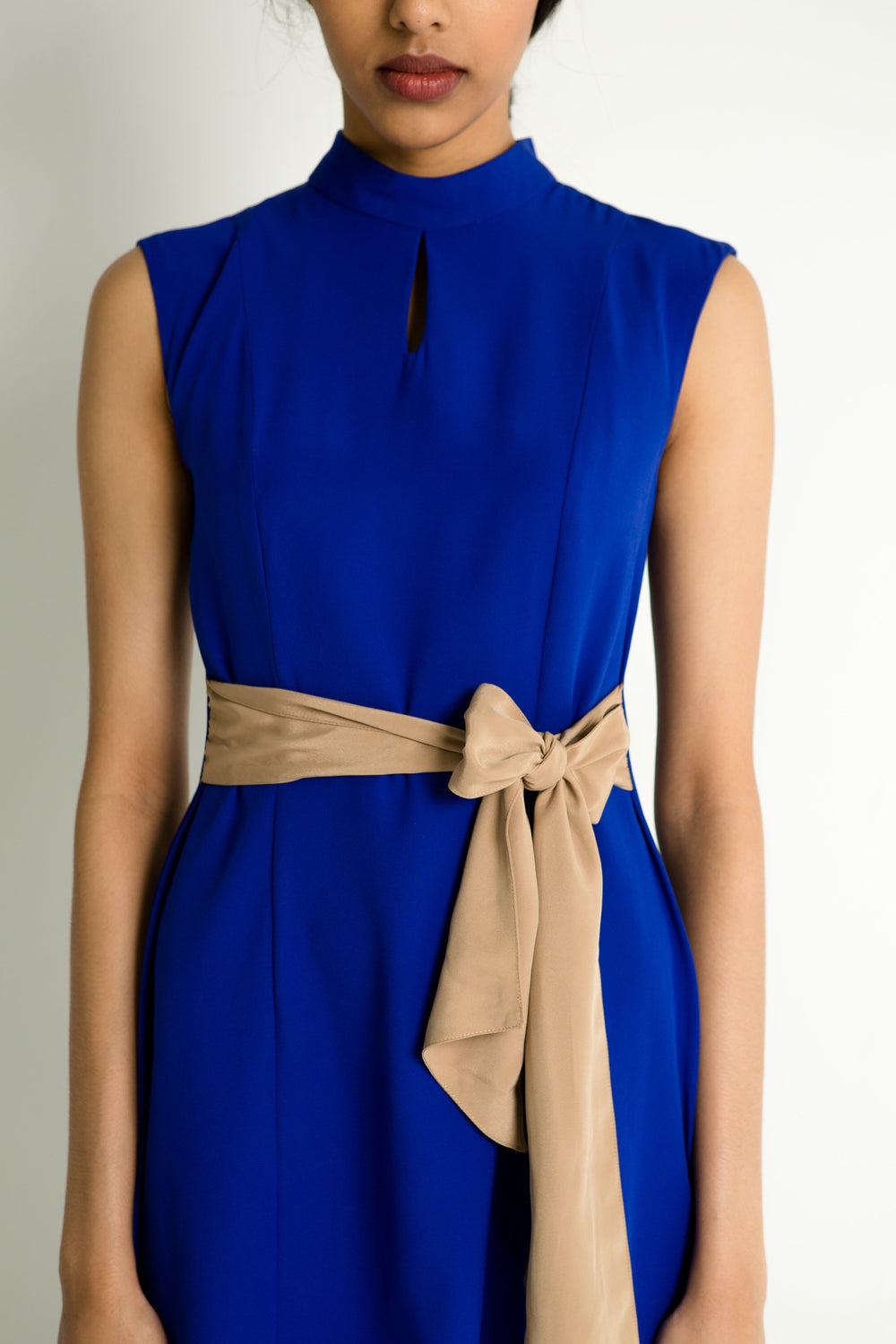 Two-way Sash Tea Dress