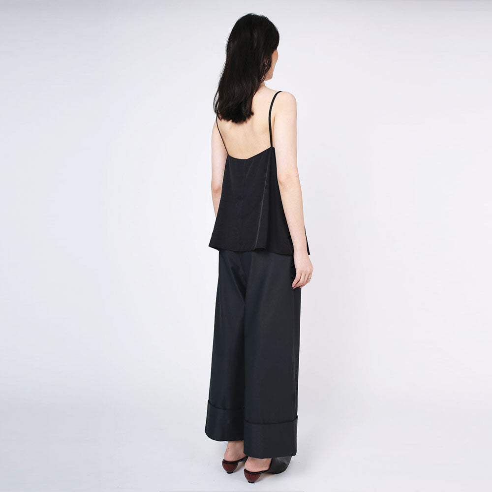 Nikko Square Neckline Cami Top - Tricorn Black