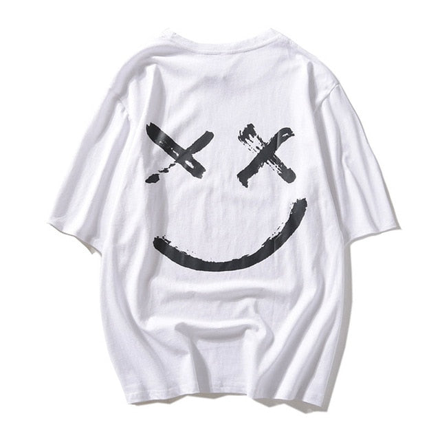 LBSS XX Smiley Motif Swag T Shirt