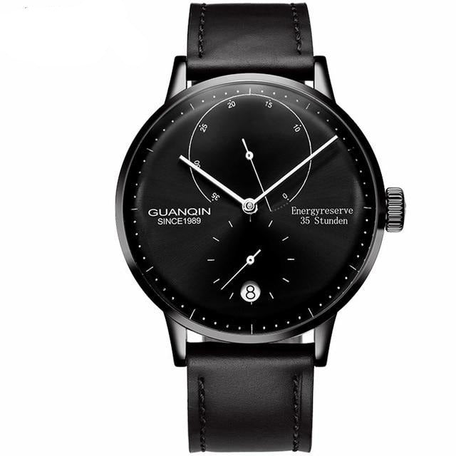 GUANQIN Automatic Sapphire Glass Men Dress Watch