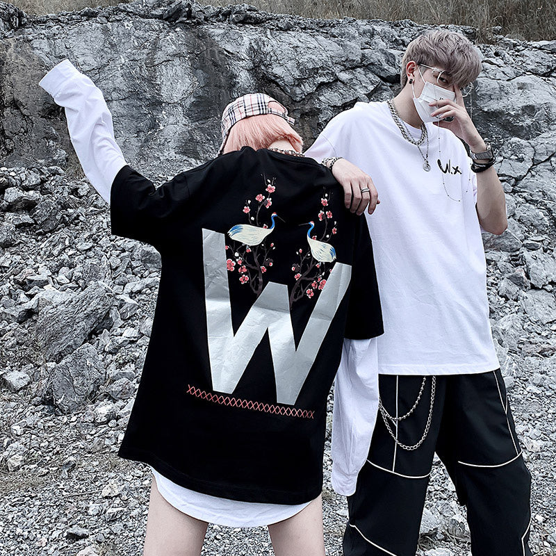 LBSS 3M Reflective Swag Couple T Shirt