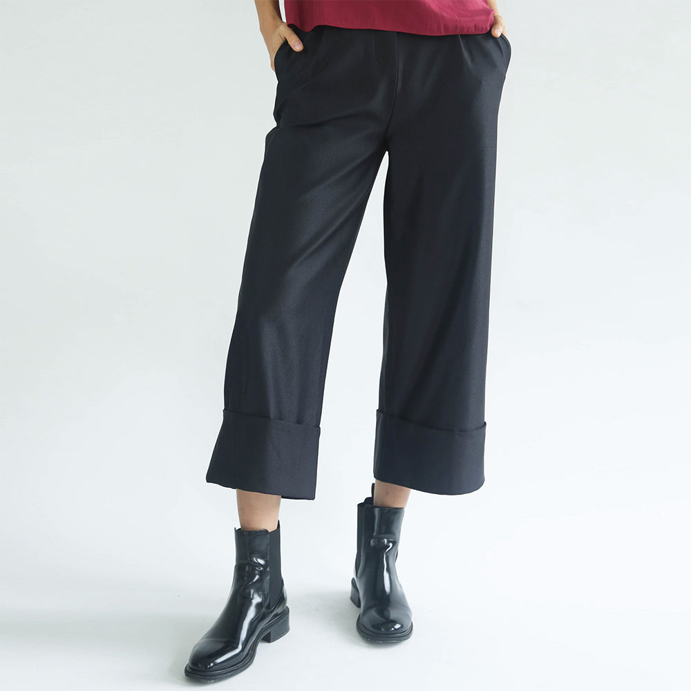 Rosenburg Cuff Pants (Graphite Black)
