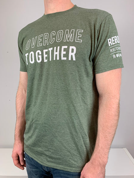 Overcome Together Green T-Shirt