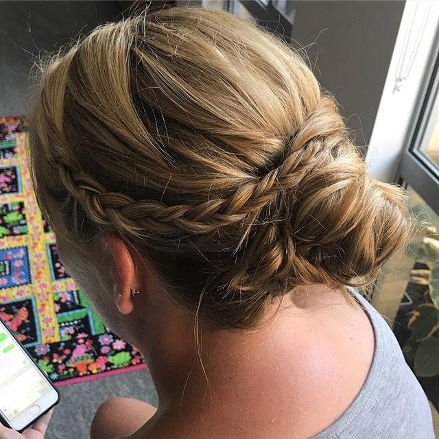 hairups,perthhair,updos,withflayr,ballhair,softupdo,weddighair,braidsandupdos,honeyblonde,evermoremakeupartistry,hairoftheday,perthhairstyling,hotd