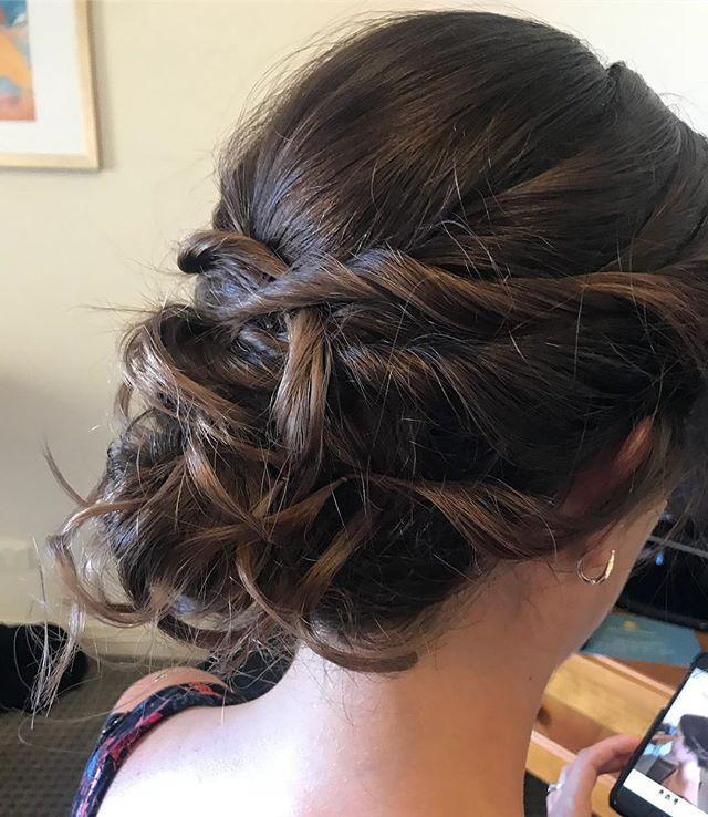 relaxedupdo,lovemyjob,weddinghair,perthhairstyling,perthmua,withflayr,hairoftheday,travellingmua,evermoremakeupartistry,messyupdo,styledtolast,hairups,twistedupdo,weddings,pwrthmakeupartist,downsouth,weddingupdo