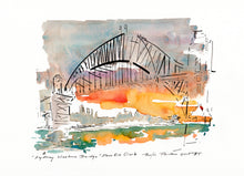 Load image into Gallery viewer, Sydney Harbour Bridge dawn sunrise bridge climb