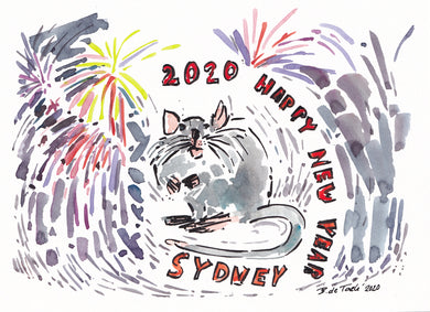 Happy Year of the Rat 2020 Syndey