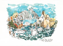 Load image into Gallery viewer, Lavender Bay Sydney Harbour Bridge
