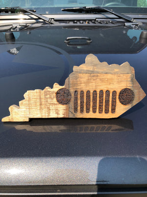 Bourbon Barrel Jeep Kentucky Decor