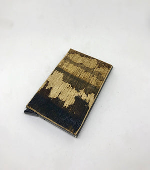 Bourbon Barrel Credit Card Wallet
