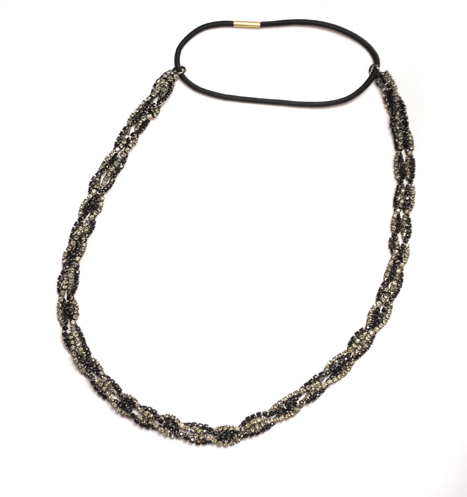 Braided Chain Gunmetal