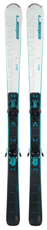 Elan Element White Skis 2020 w/bindings