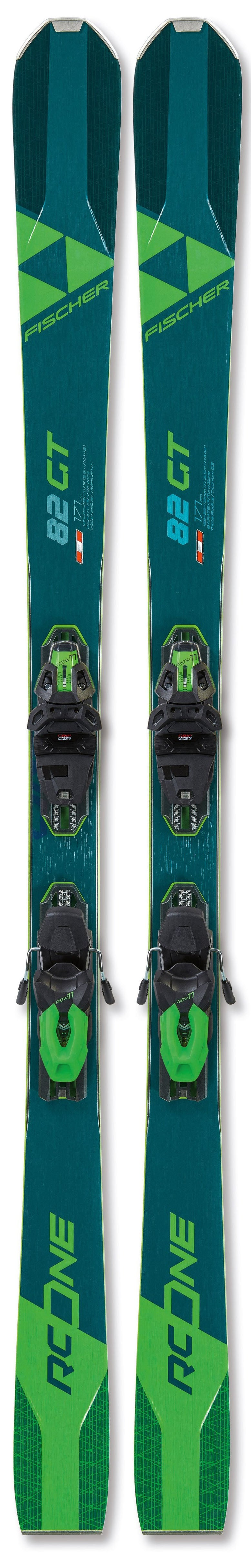 Fischer RC One 82 GT Skis 2021 w/bindings