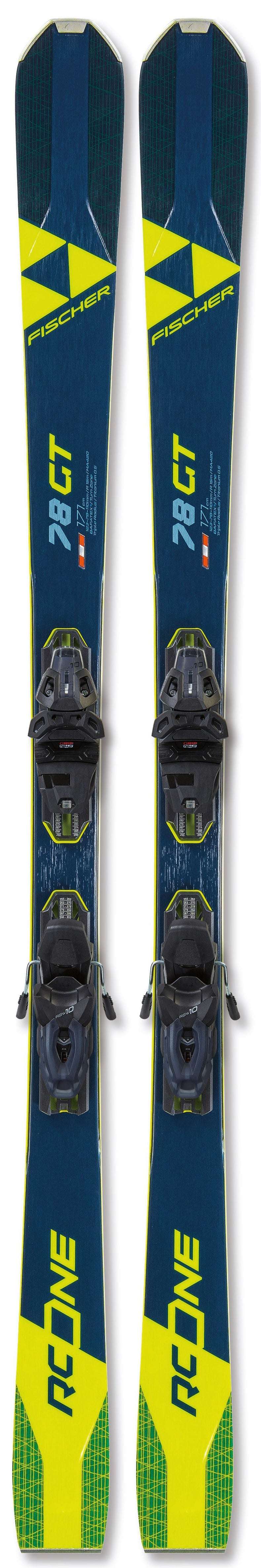 Fischer RC One 78 GT Skis 2021 w/bindings