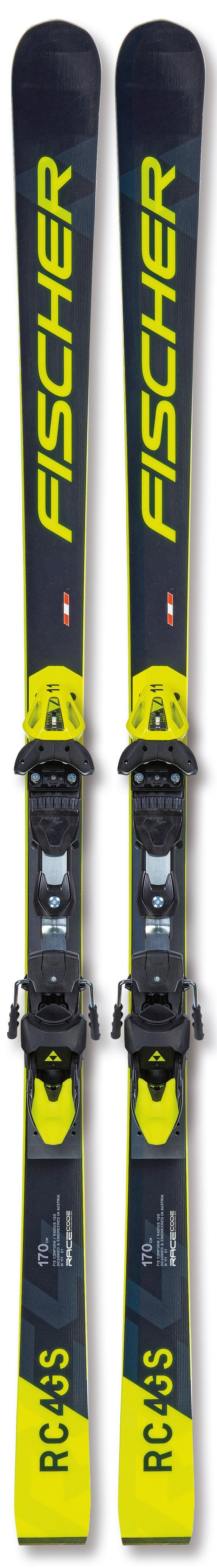 Fischer RC4 Worldcup GS Jr Race Skis 2021 w/ MO plate