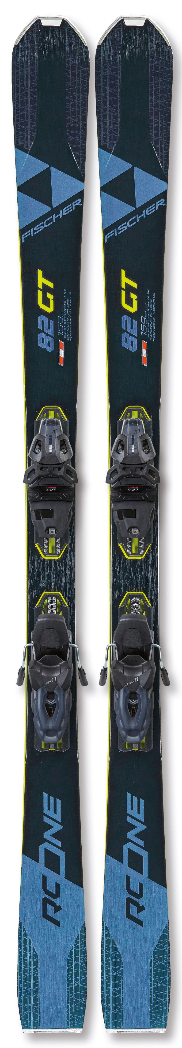 Fischer RC One 82 GT WS Skis 2021 w/bindings