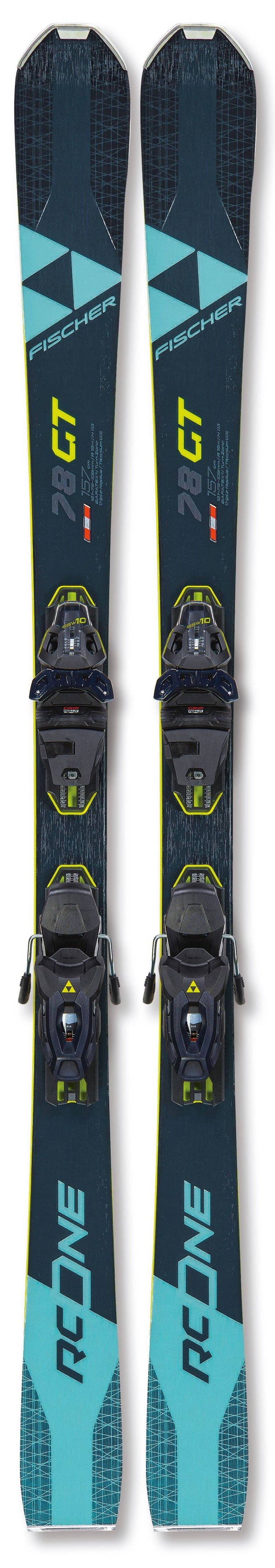 Fischer RC One 78 GT WS Skis 2021 w/bindings