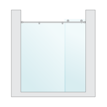 Load image into Gallery viewer, Sliding door - Satin Finish