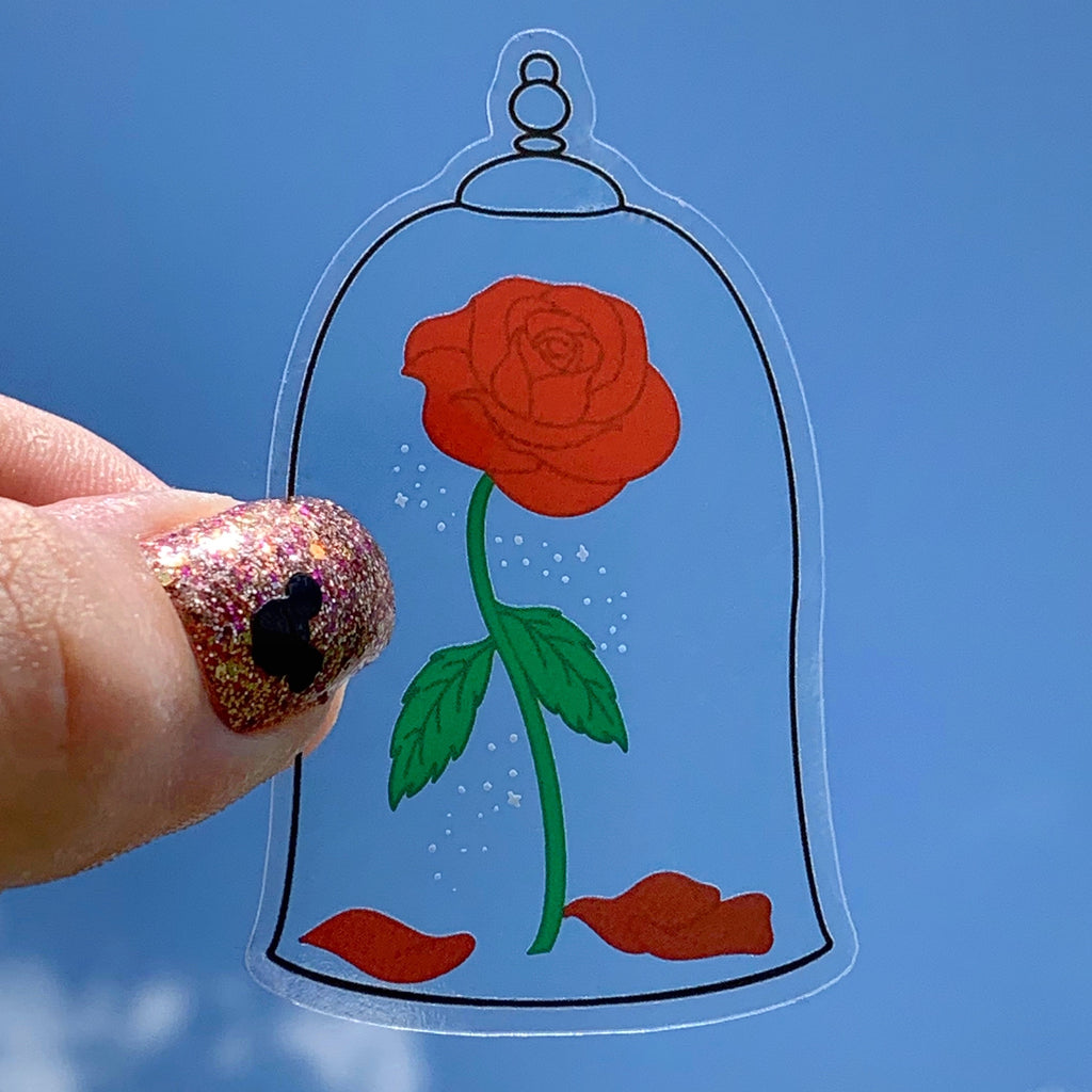 Stickers - Enchanted Rose  READY TO SHIP