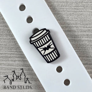 Band Stud - Coffee Cup Collection - Pumpkin King READY TO SHIP