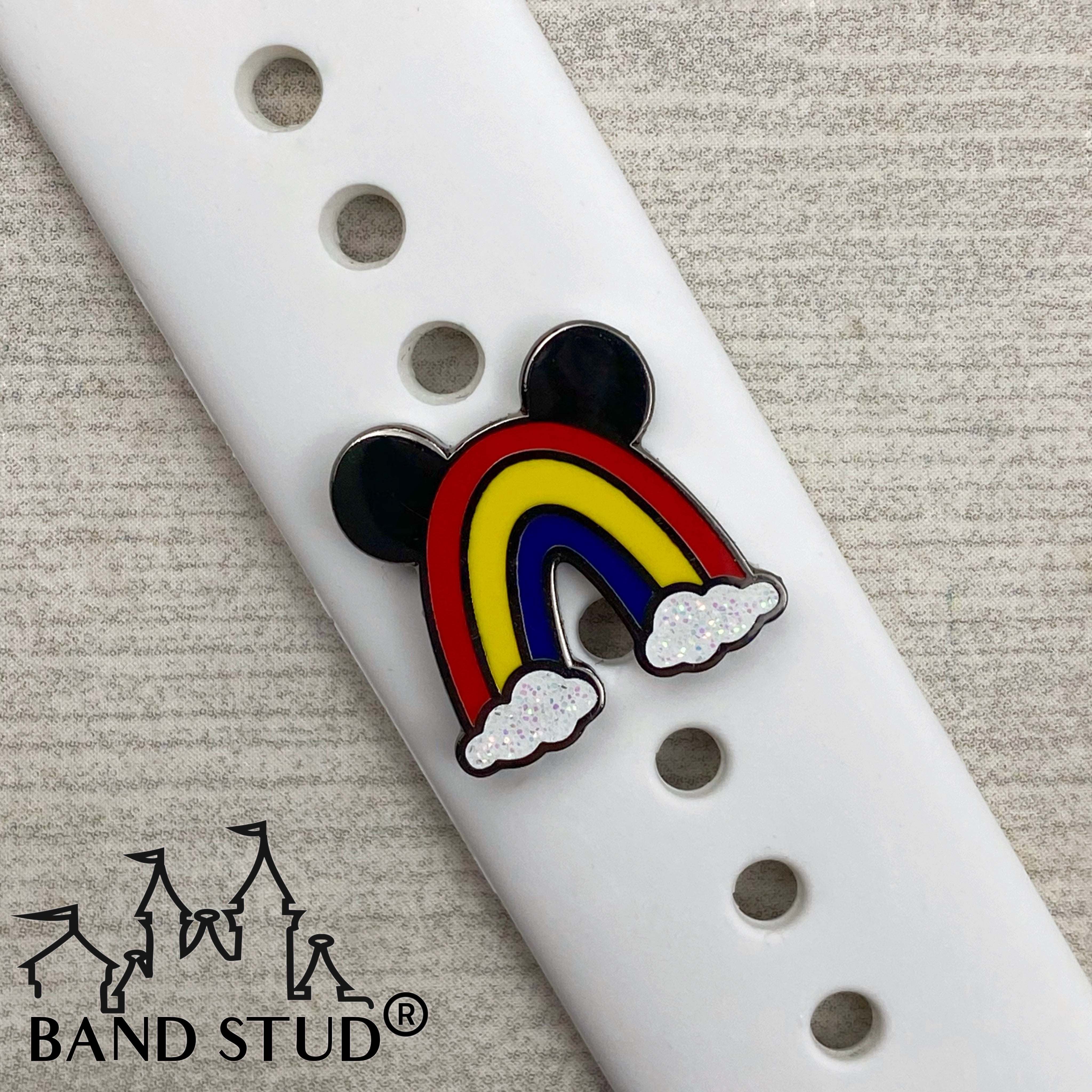 Band Stud® - Mouse Rainbow READY TO SHIP