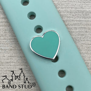 Band Stud® - Couture Blue Heart READY TO SHIP