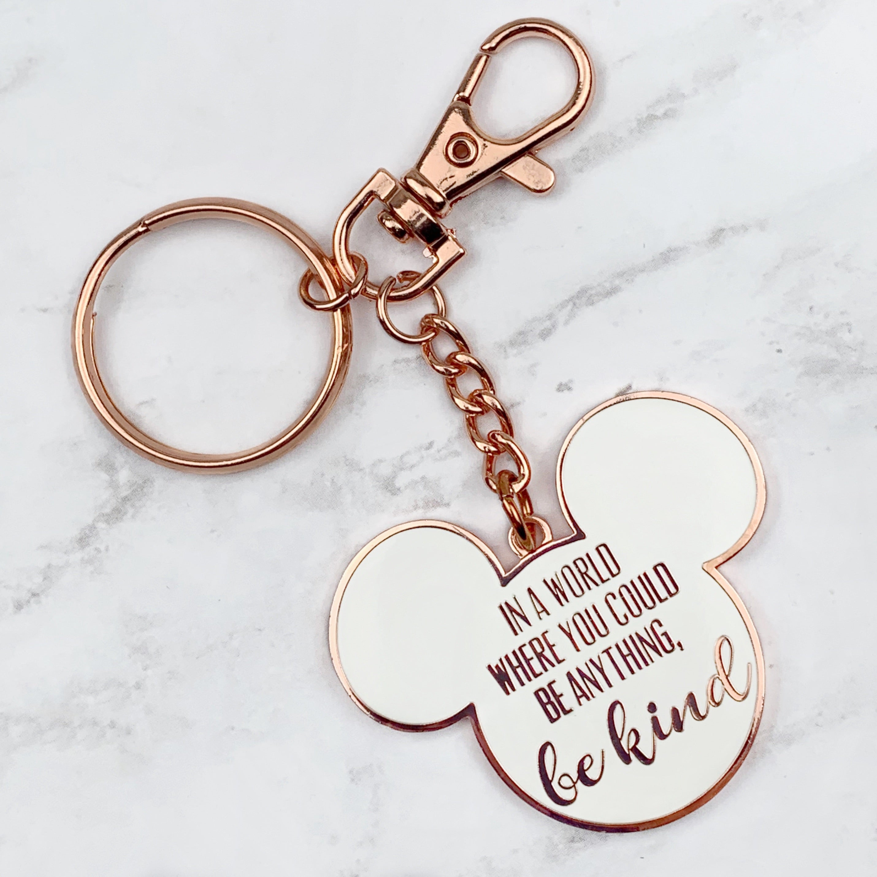Keychain - World Of Kindness READY TO SHIP