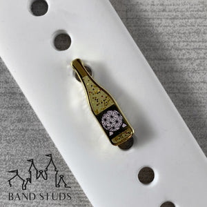 Band Stud - Food and Wine Collection - Grand and Miraculous Wine Bottle READY TO SHIP