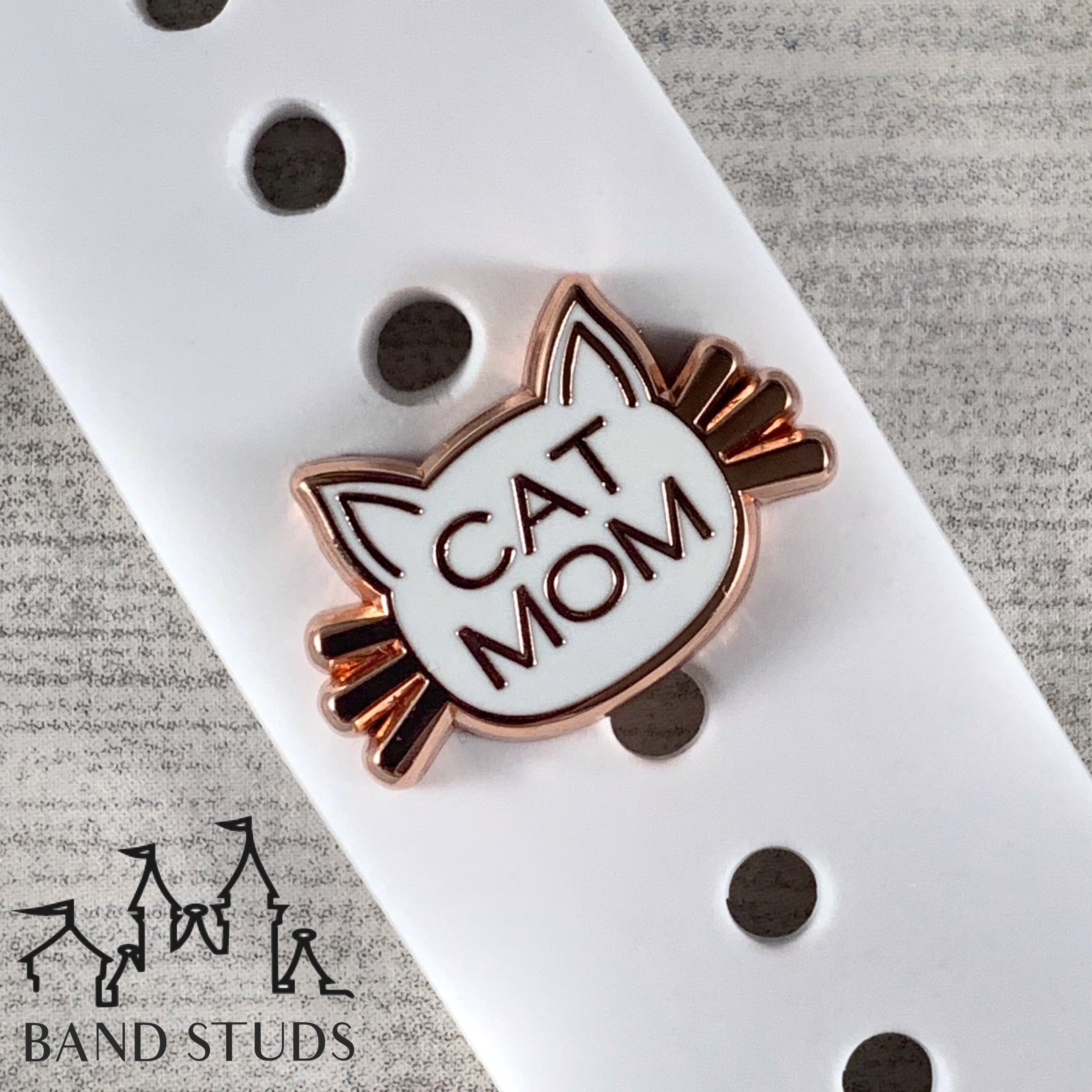 Band Stud® - Cat Mom READY TO SHIP