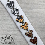 Band Stud® - Animal Print Mouse READY TO SHIP