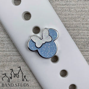 Band Stud® - Miss Mouse - Cinderella Blue  READY TO SHIP